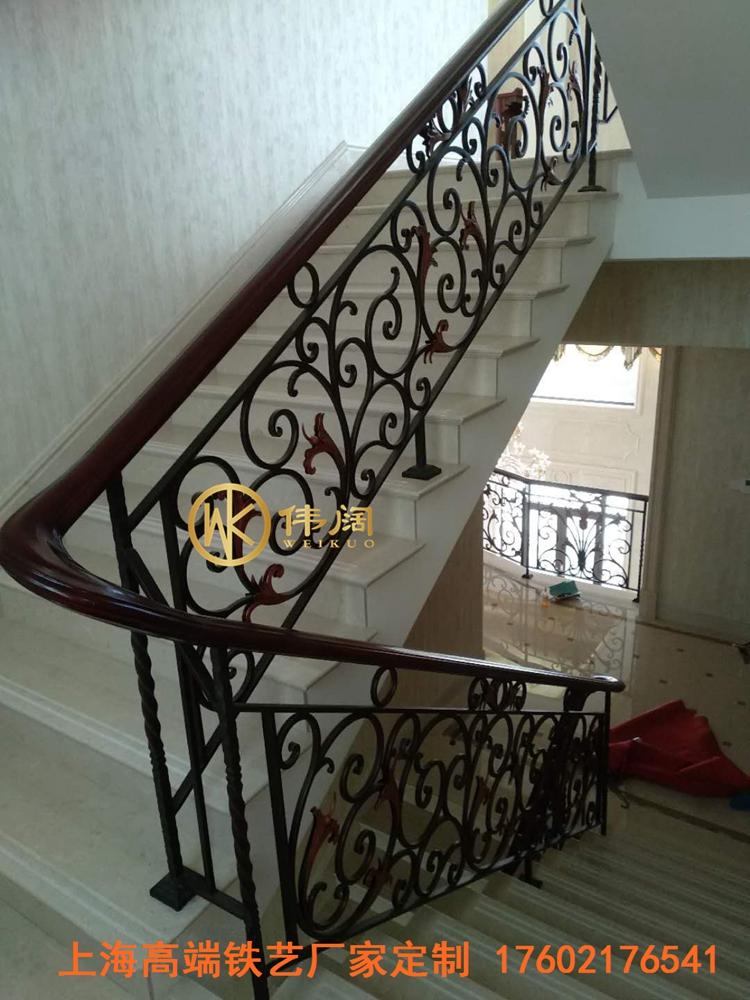 室内铁艺楼梯扶手