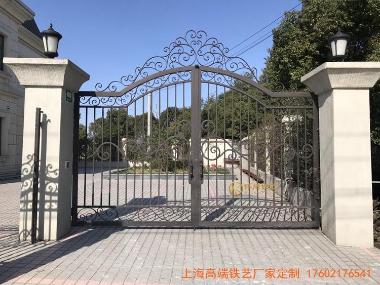 农村自建别墅铁艺大门