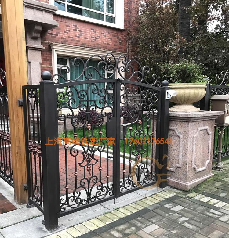 锻打铁艺庭院门